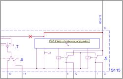 schema s115 switch driver door mod